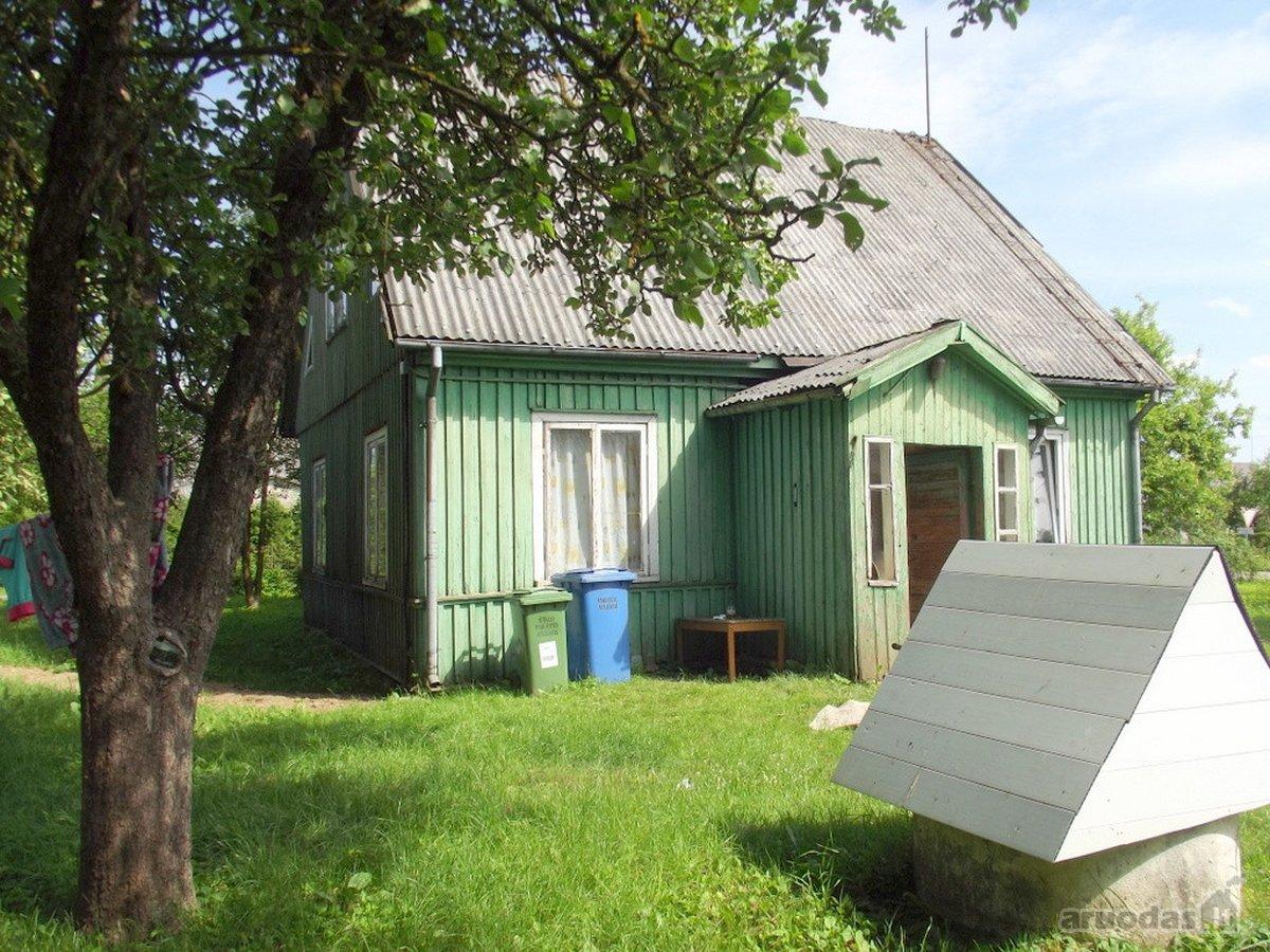 Rietavo sav., Vatušių k., Meinartų g., medinis namas
