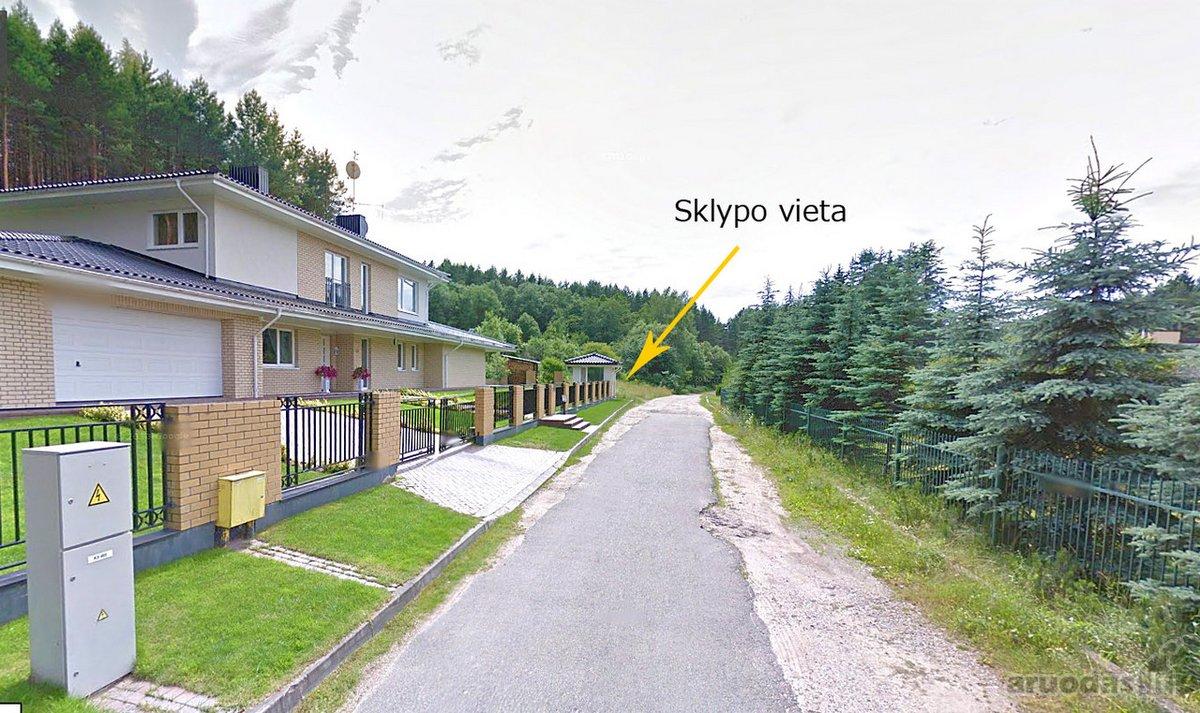 Vilnius, Antakalnis, Nugalėtojų g., namų valdos, kitos paskirties sklypas