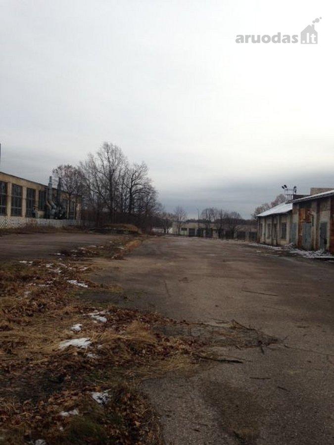 Šiaulių r. sav., Kairių mstl., gamybinės, sandėliavimo paskirties sklypas