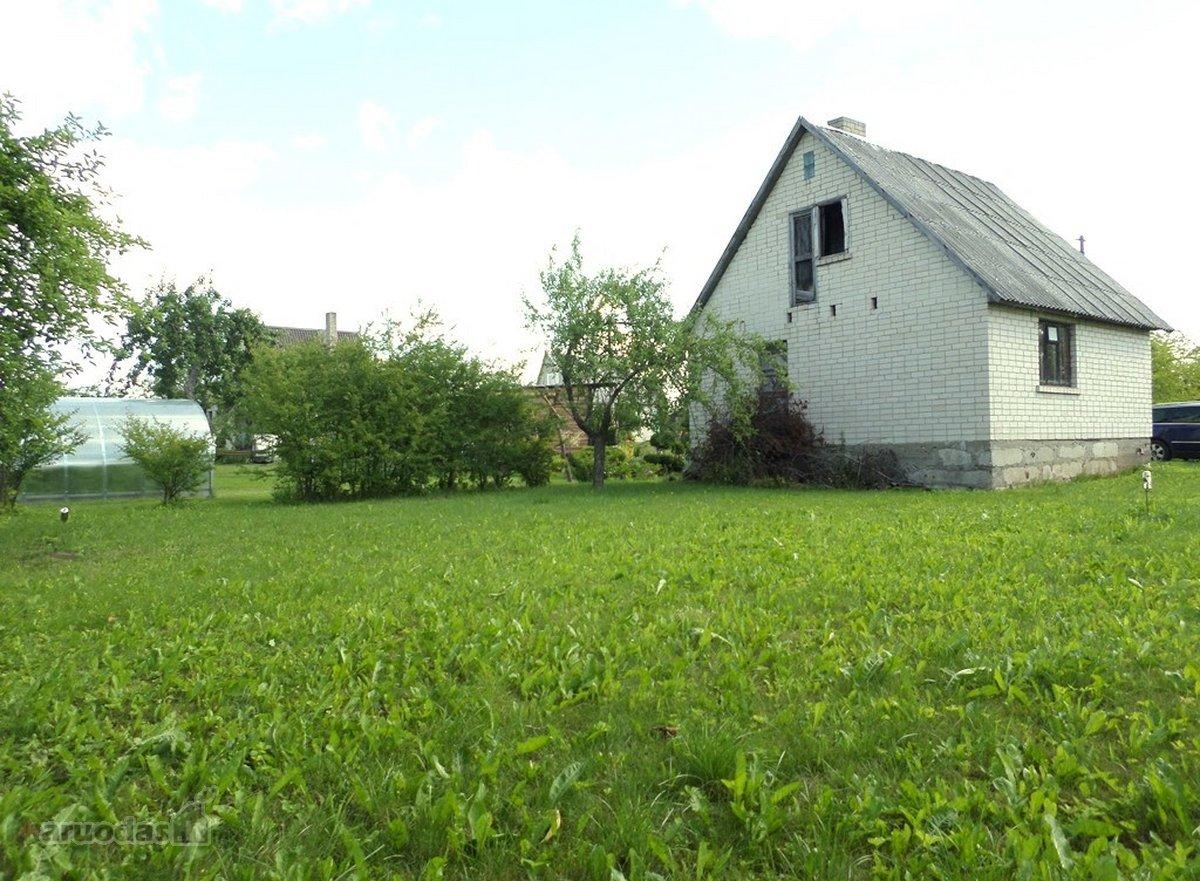 Mažeikių r. sav., Kurmaičių k., mūrinis sodo namas