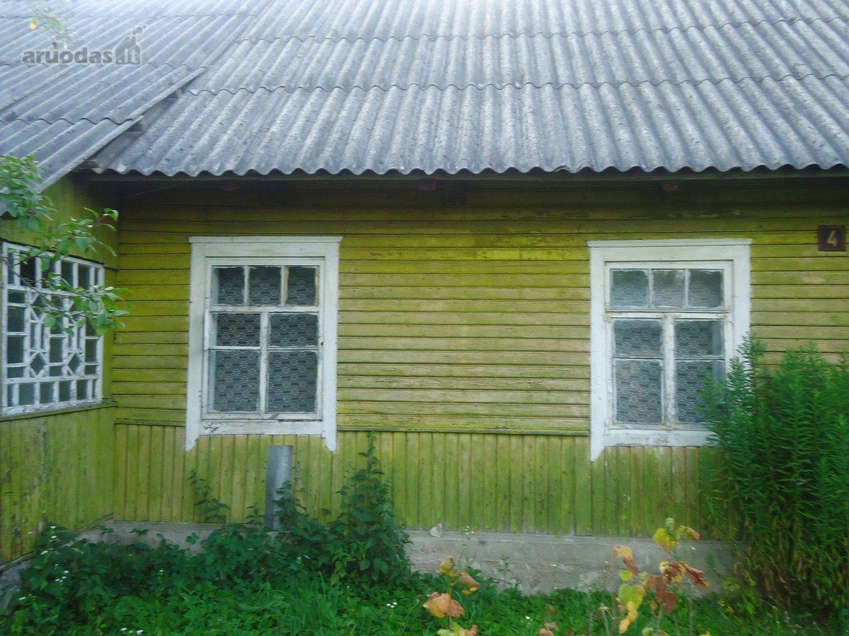 Vilniaus r. sav., Šumsko mstl., Mėnulio g., medinis namas
