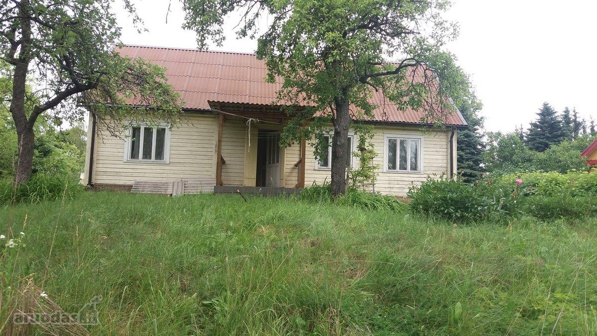 Anykščių r. sav., Kavarsko m., medinė sodyba