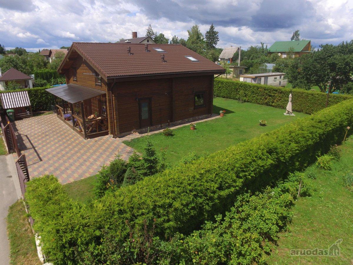Vilnius, Antakalnis, Kalno g., rąstinis namas