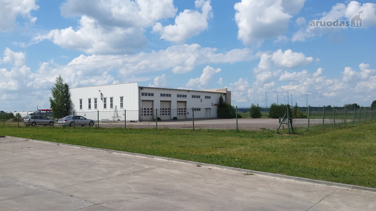 Marijampolės sav., Marijampolės m., Mokolai, Gėlyno g., prekybinės, paslaugų paskirties patalpos nuomai