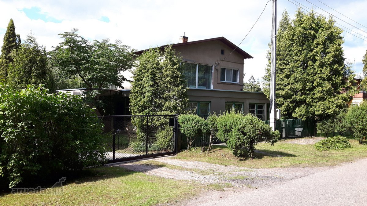 Kaišiadorių r. sav., Karčiupio k., Miško g., mūrinis namas