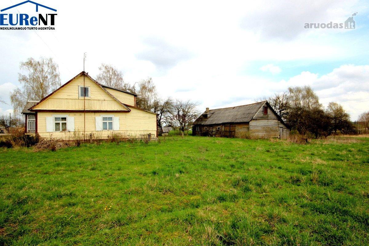 Anykščių r. sav., Laviškio k., Laviškio g., medinis namas