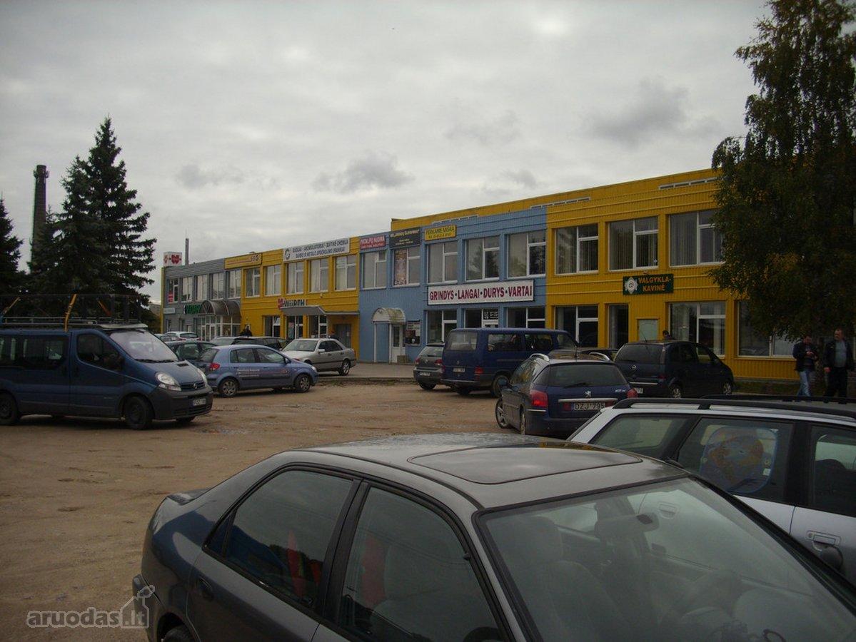 Utenos m., Vyturių, Pramonės g., biuro, prekybinės paskirties patalpos nuomai