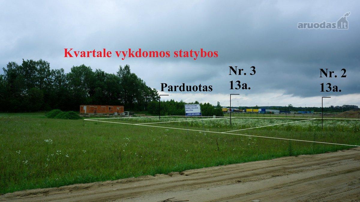 Vilnius, Tarandė, Lubinų g., namų valdos paskirties sklypas