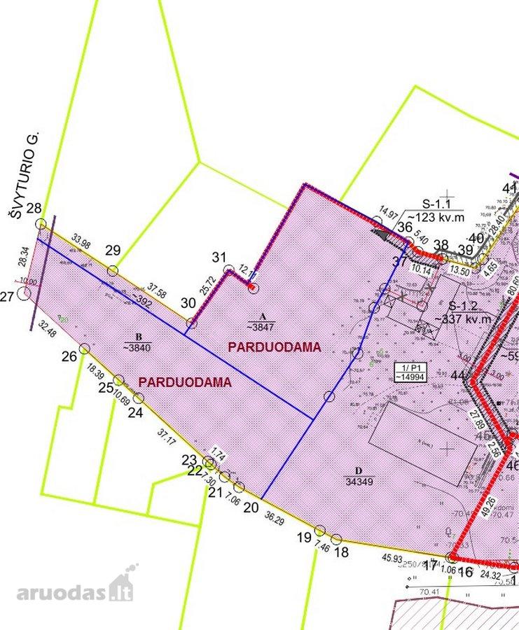 Kaunas, Šiltnamių g., gamybinės, sandėliavimo, komercinės, kitos paskirties sklypas
