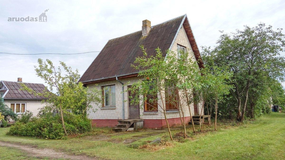Panevėžio r. sav., Daukniškių k., Liepų al., mūrinis sodo namas