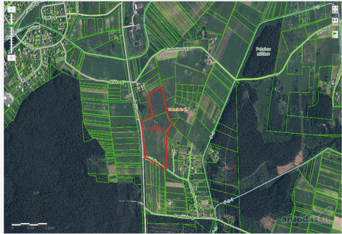 Vilniaus r. sav., Totorinės k., factory, commercial, other purpose vacant land