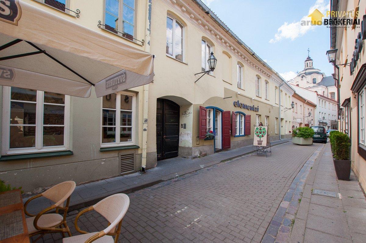 Vilnius, Senamiestis, Stiklių g., 3 kambarių buto nuoma