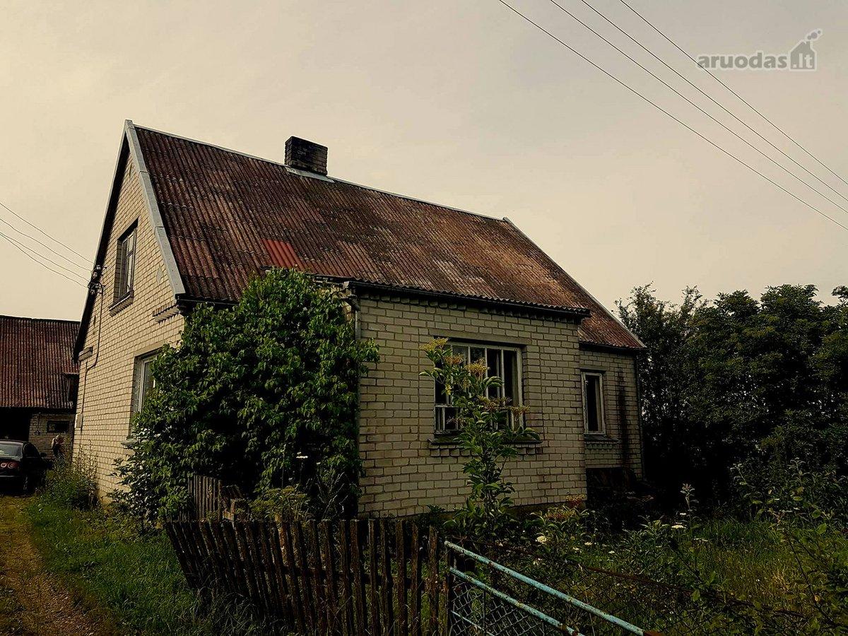 Kretingos r. sav., Raguviškių k., Žalgirio g., mūrinis namas
