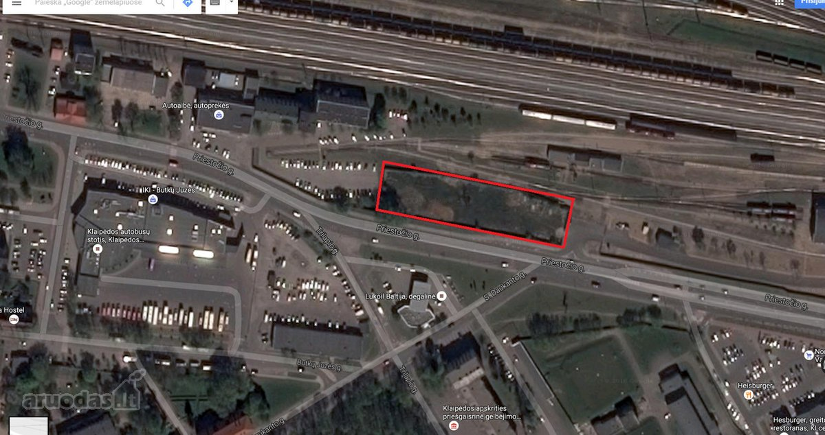 Klaipėda, Centras, daugiabučių statybos, komercinės paskirties sklypas