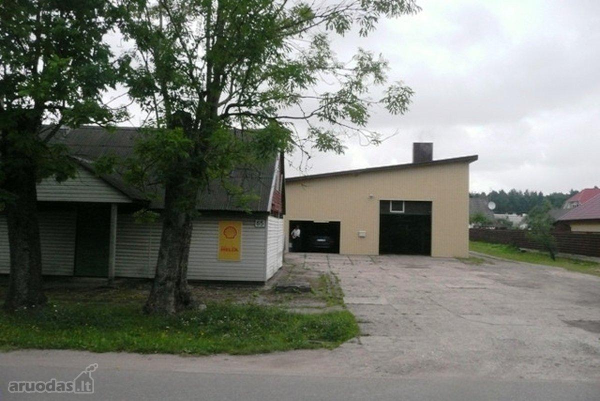 Mažeikių m., Vytauto g., paslaugų, sandėliavimo, gamybinės paskirties patalpos