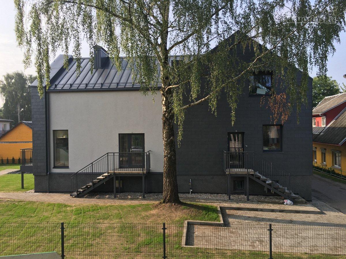 Kaunas, Žaliakalnis, A. Mackevičiaus g., mūrinis sublokuotas namas