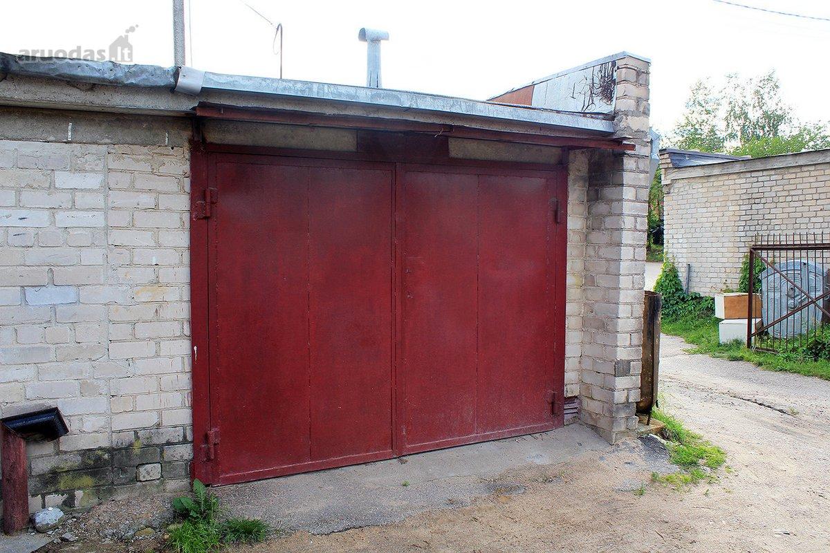 Vilniaus r. sav., Nemenčinės m., T. Kosciuškos g., mūrinis garažas