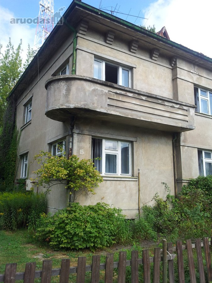 Kaunas, Žaliakalnis, Margio g., mūrinis namas
