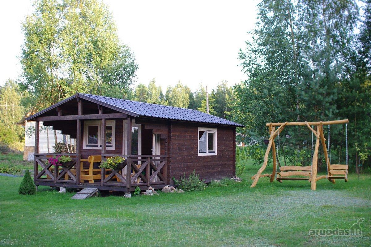 Jonavos r. sav., Dumsiškių k., medinis sodo namas