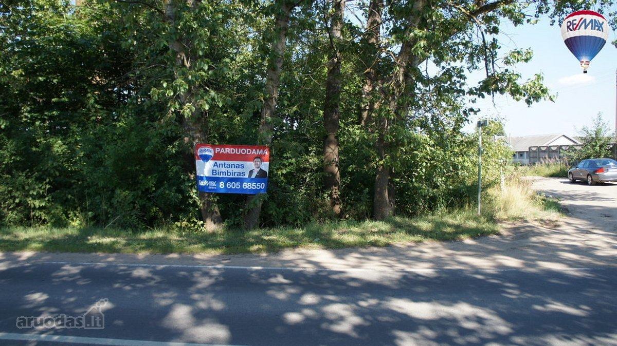 Vilnius, Naujaneriai, Žaliųjų Ežerų g., komercinės paskirties sklypas