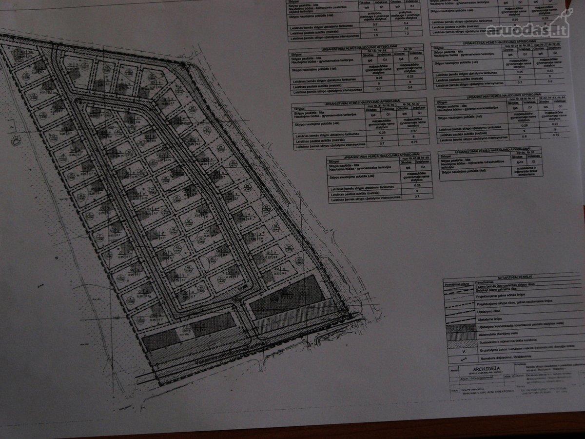 Mažeikių m., Laisvės g., namų valdos, sandėliavimo, komercinės paskirties sklypas