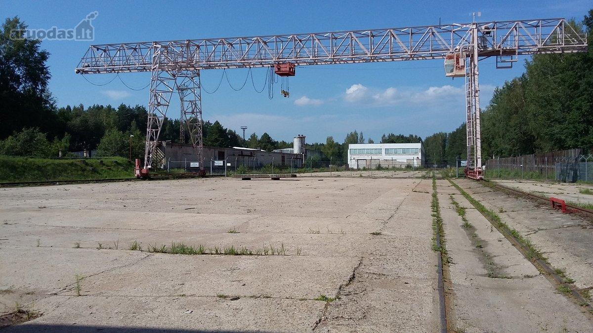 Elektrėnų m., Elektrinės g., sandėliavimo paskirties patalpos nuomai