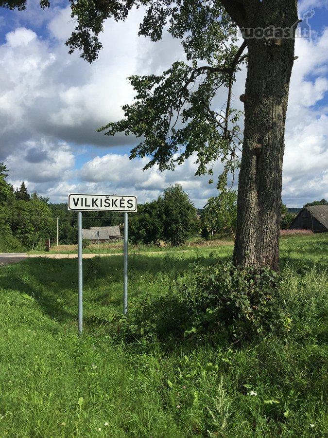 Šalčininkų r. sav., Vilkiškių k., Parko g., žemės ūkio paskirties sklypas