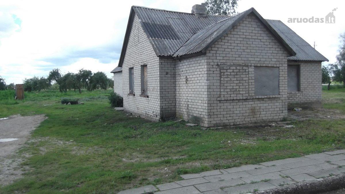 Radviliškio r. sav., Pajulių k., Sodų g., mūrinis namas