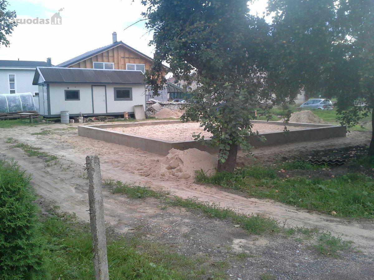 Kaišiadorių r. sav., Rumšiškių mstl., S. Nėries g., namų valdos paskirties sklypas