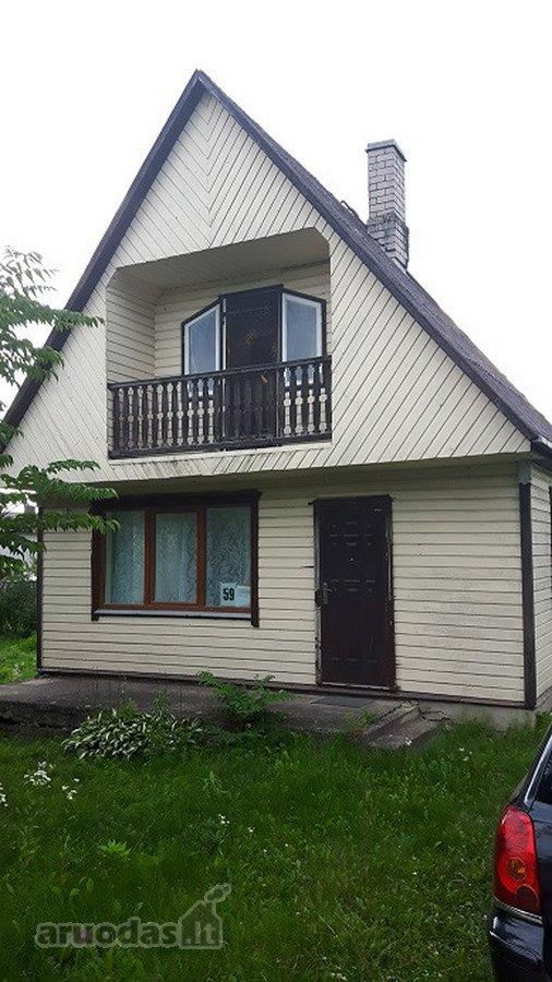 Utenos m., Vyturių, Pušyno g., medinis sodo namas