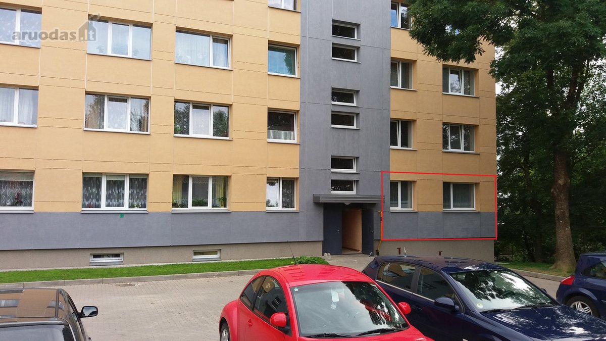 Akmenės r. sav., Akmenės m., Laižuvos g., 2 kambarių butas