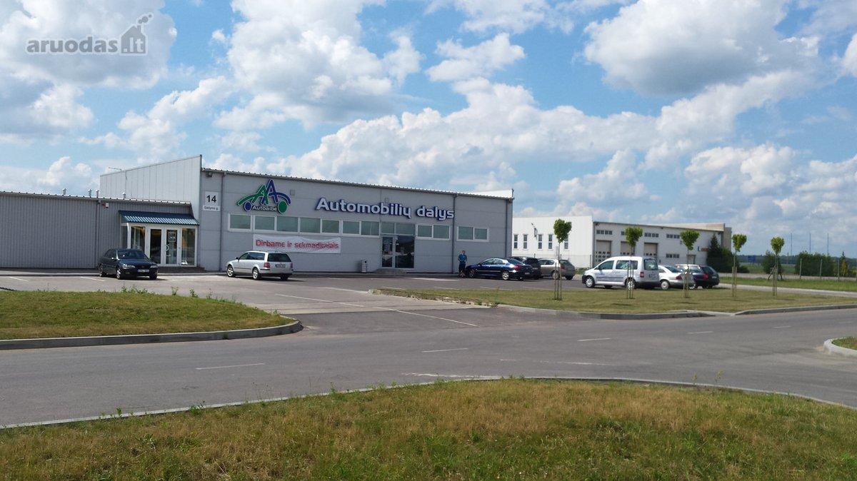 Marijampolės m., Mokolai, Gėlyno g., prekybinės paskirties patalpos