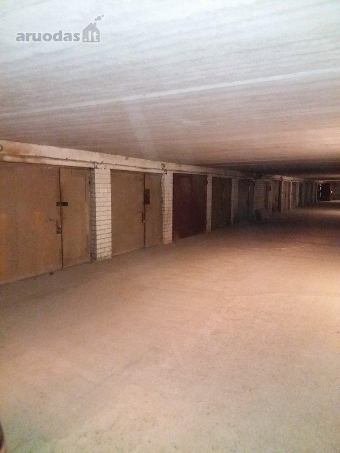 Vilnius, Žirmūnai, Kalvarijų g., požeminis garažas