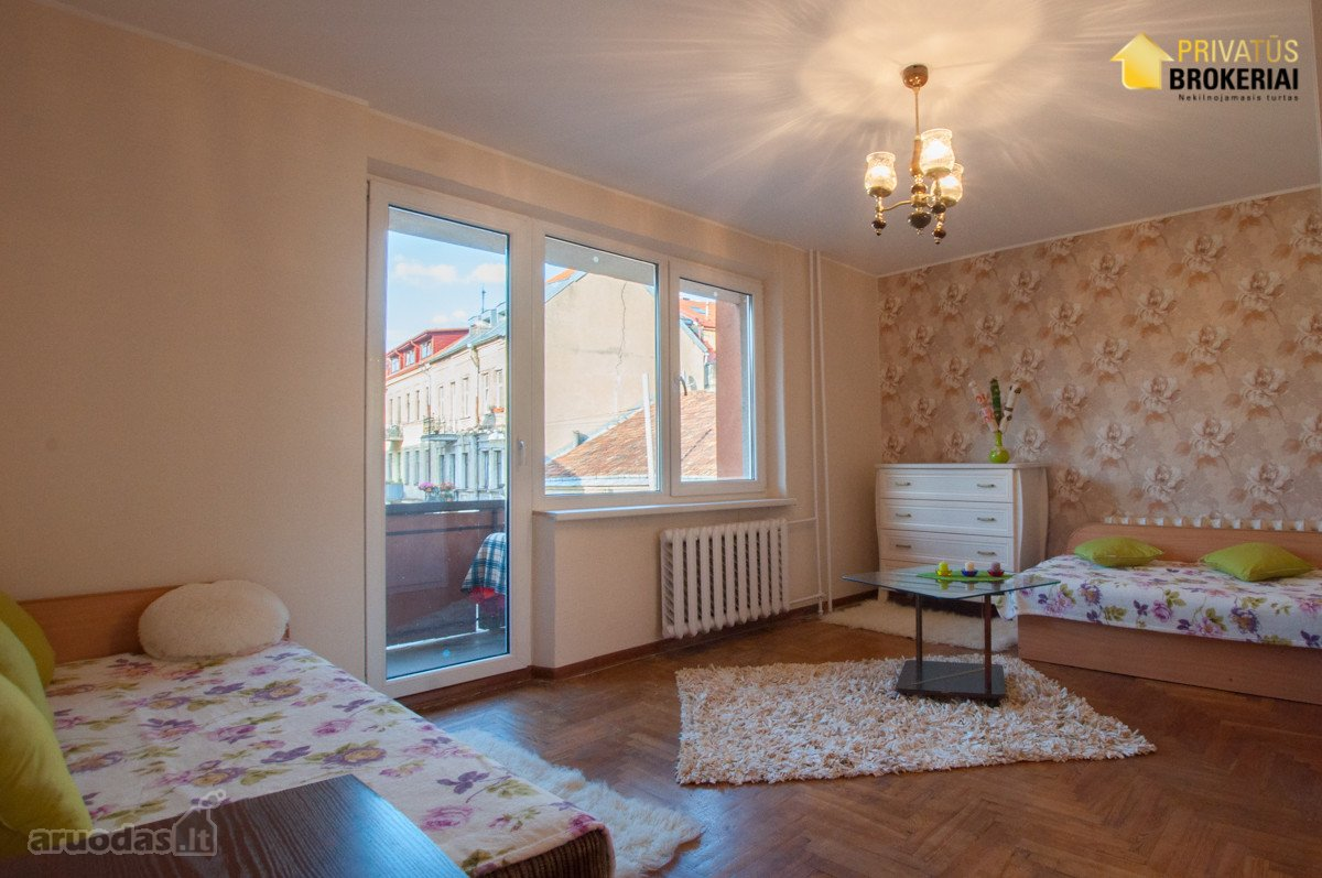 Vilnius, Senamiestis, Šv. Stepono g., 2 kambarių butas