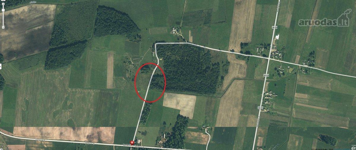 Telšių r. sav., Kantenių k., žemės ūkio paskirties sklypas