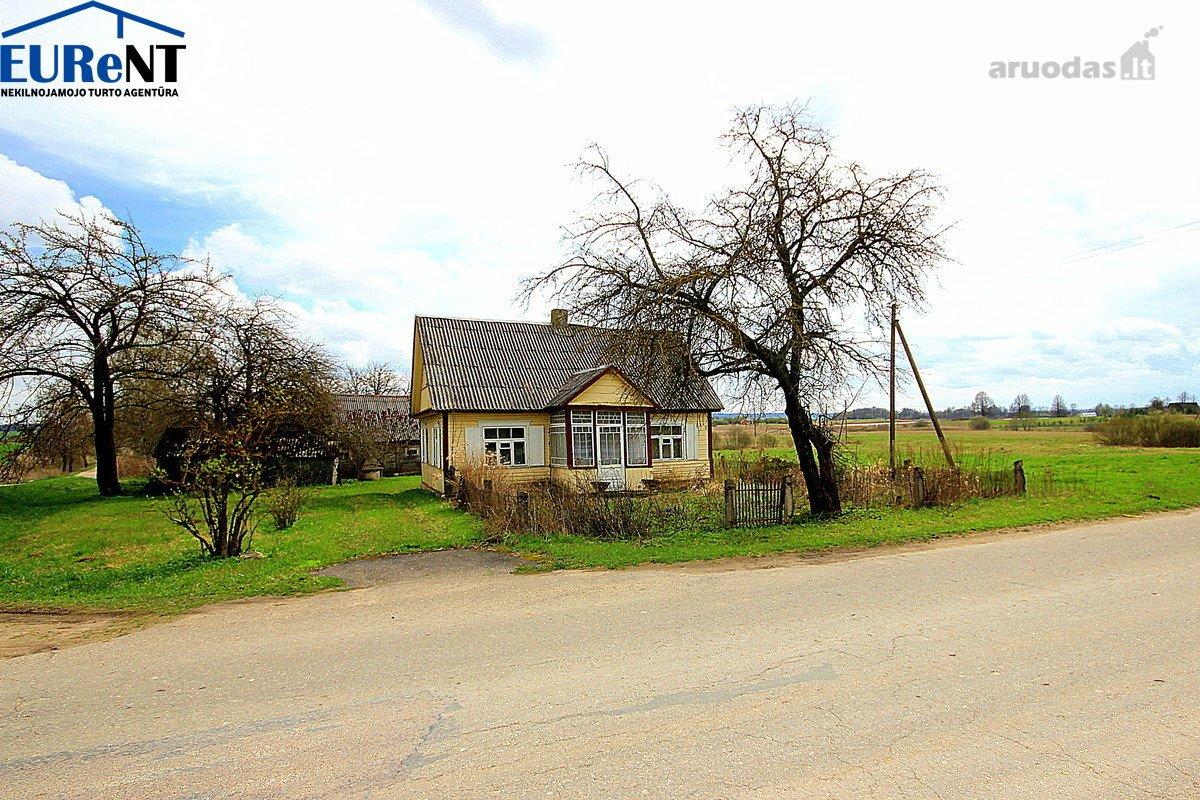 Anykščių r. sav., Laviškio k., Laviškio g., medinė sodyba