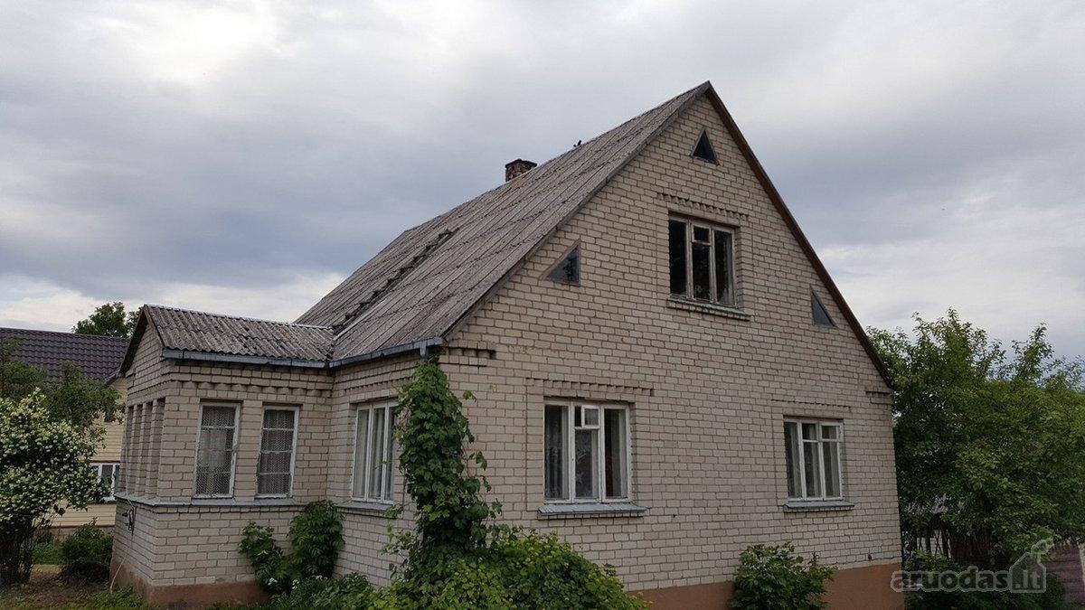 Lazdijų m., Seinų g., mūrinė sodyba