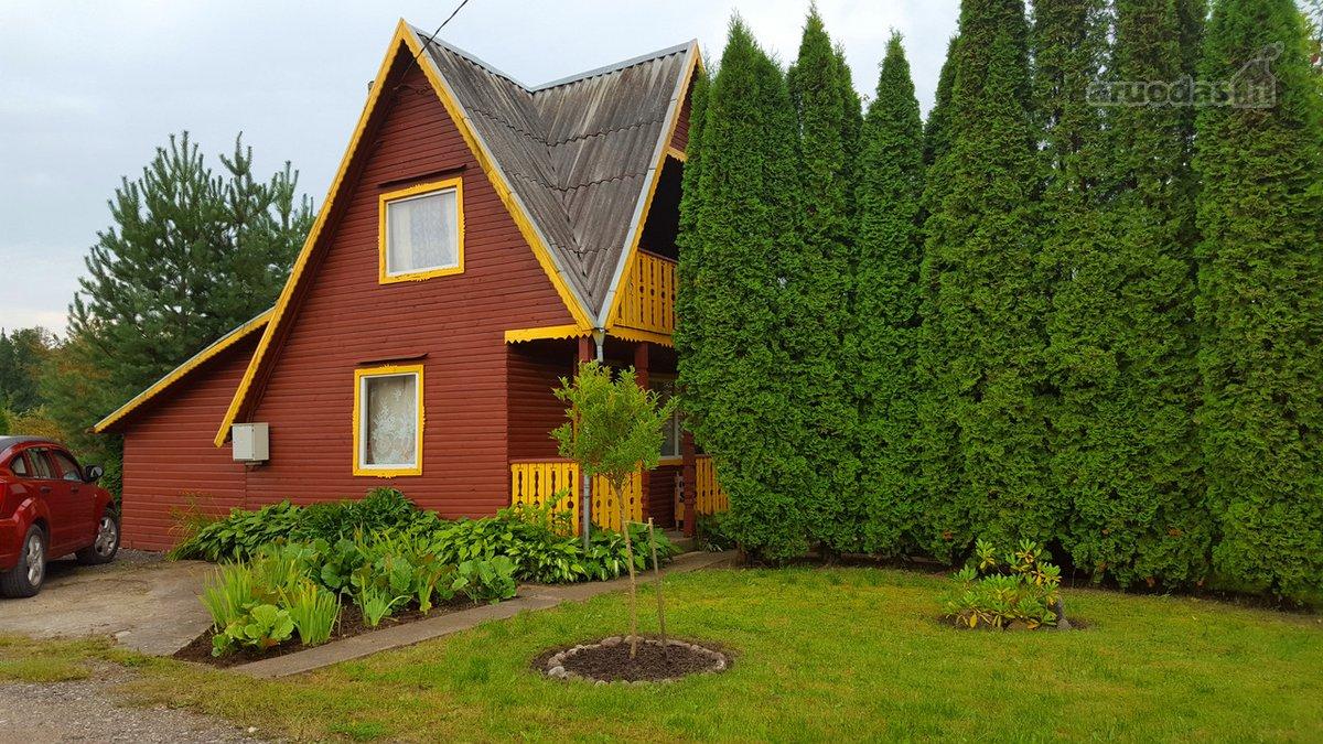 Mažeikių r. sav., Mažeikių m., medinis sodo namas