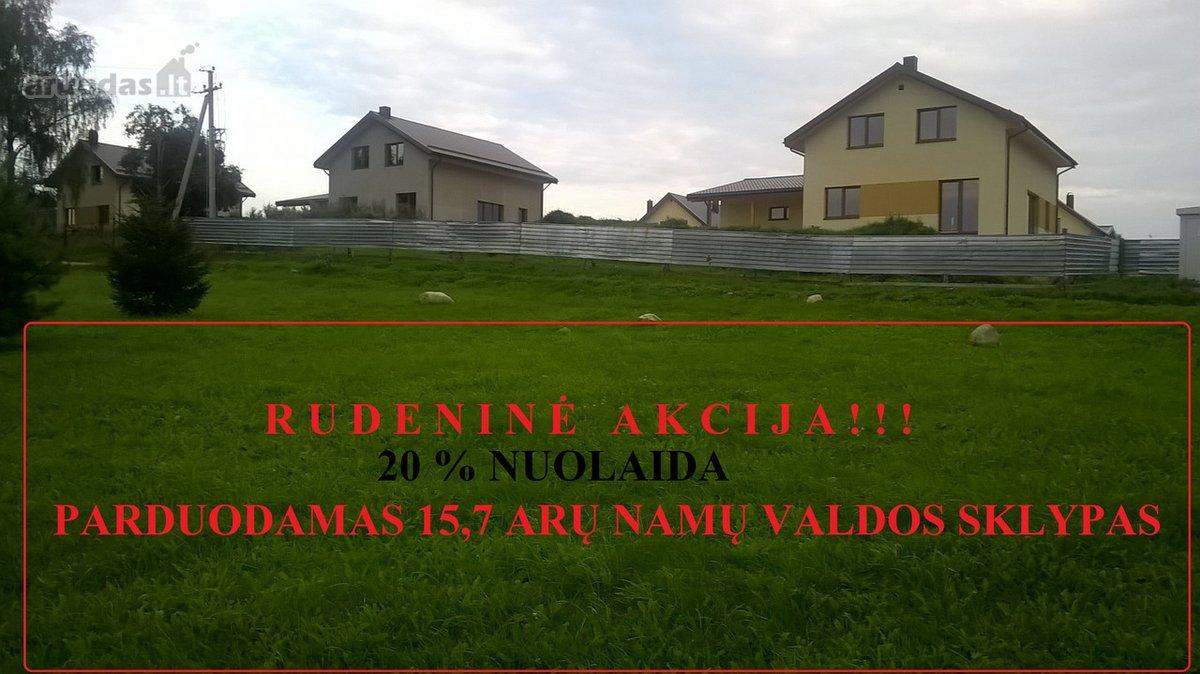 Vilniaus r. sav., Bendorių k., Vilnios g., namų valdos paskirties sklypas