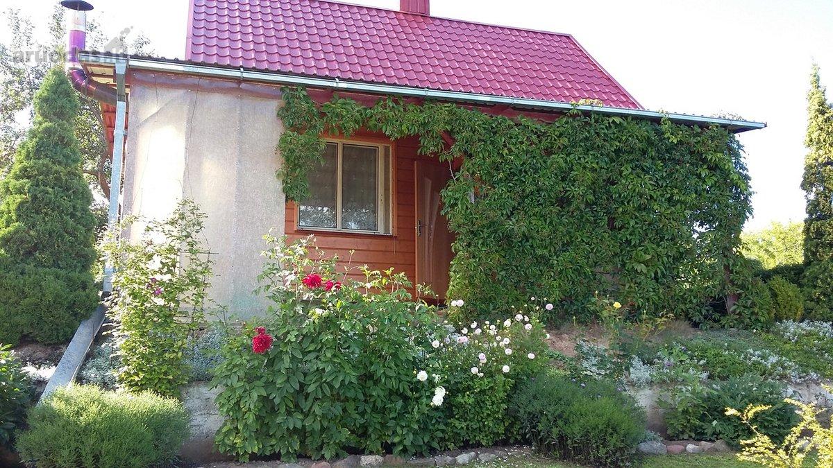 Vilniaus r. sav., Brinkiškių k., Aušrinės 6-oji g., medinis sodo namas