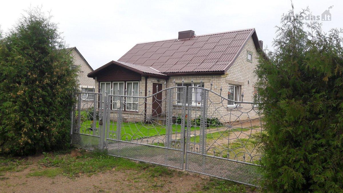 Jonavos r. sav., Upninkų k., Gudonių g., mūrinis namas