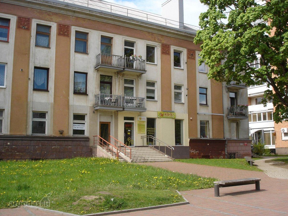 Šiauliai, Centras, Vilniaus g., biuro, prekybinės, paslaugų paskirties patalpos nuomai