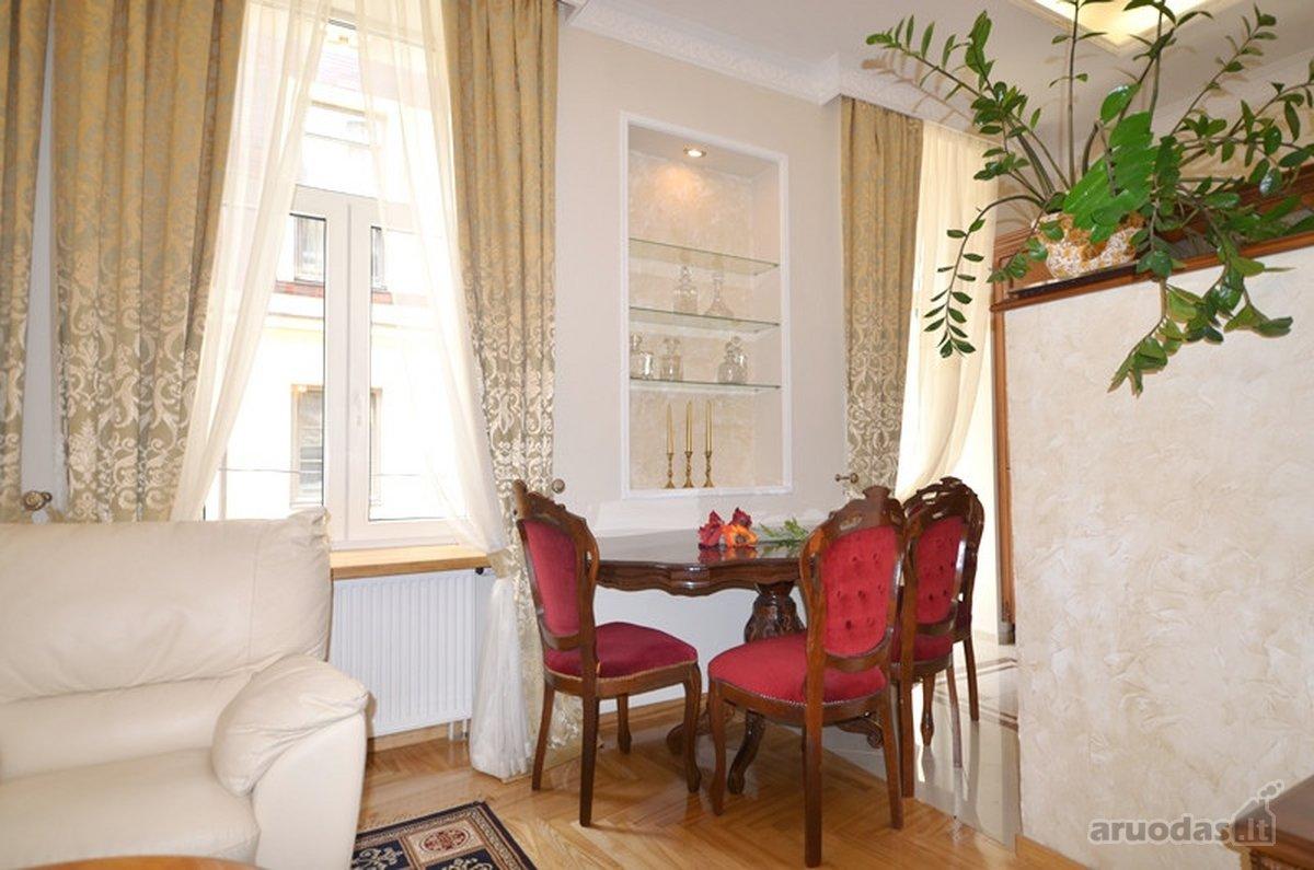 Vilnius, Senamiestis, Šv. Stepono g., 3 kambarių buto nuoma
