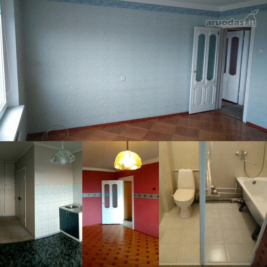 Tauragės m., Gedimino g., 2 kambarių butas