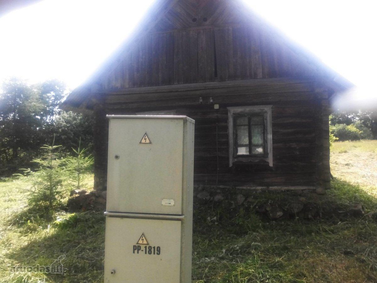 Vilniaus r. sav., Ančeriškių k., medinė sodyba