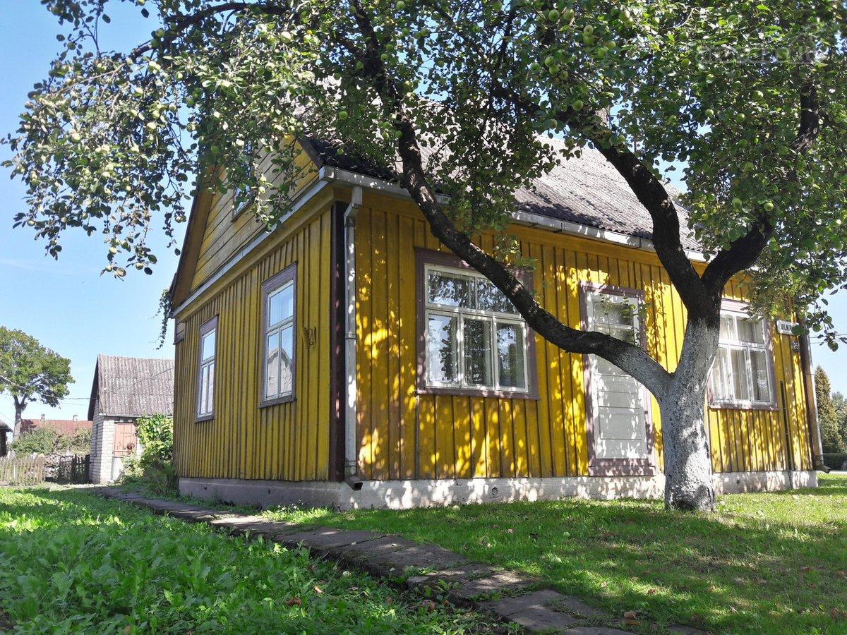 Kėdainių r. sav., Krakių mstl., Vilniaus g., medinis namas