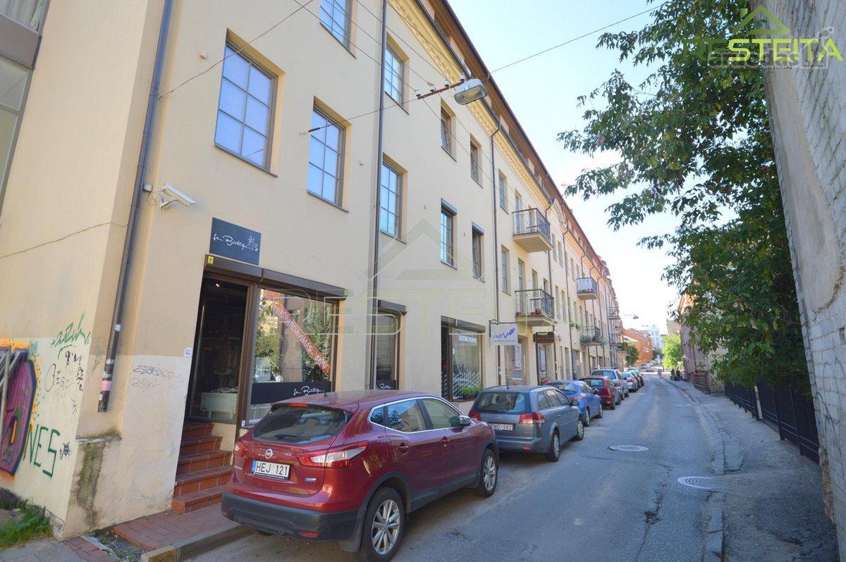 Vilnius, Senamiestis, Raugyklos g., biuro, prekybinės, paslaugų paskirties patalpos nuomai
