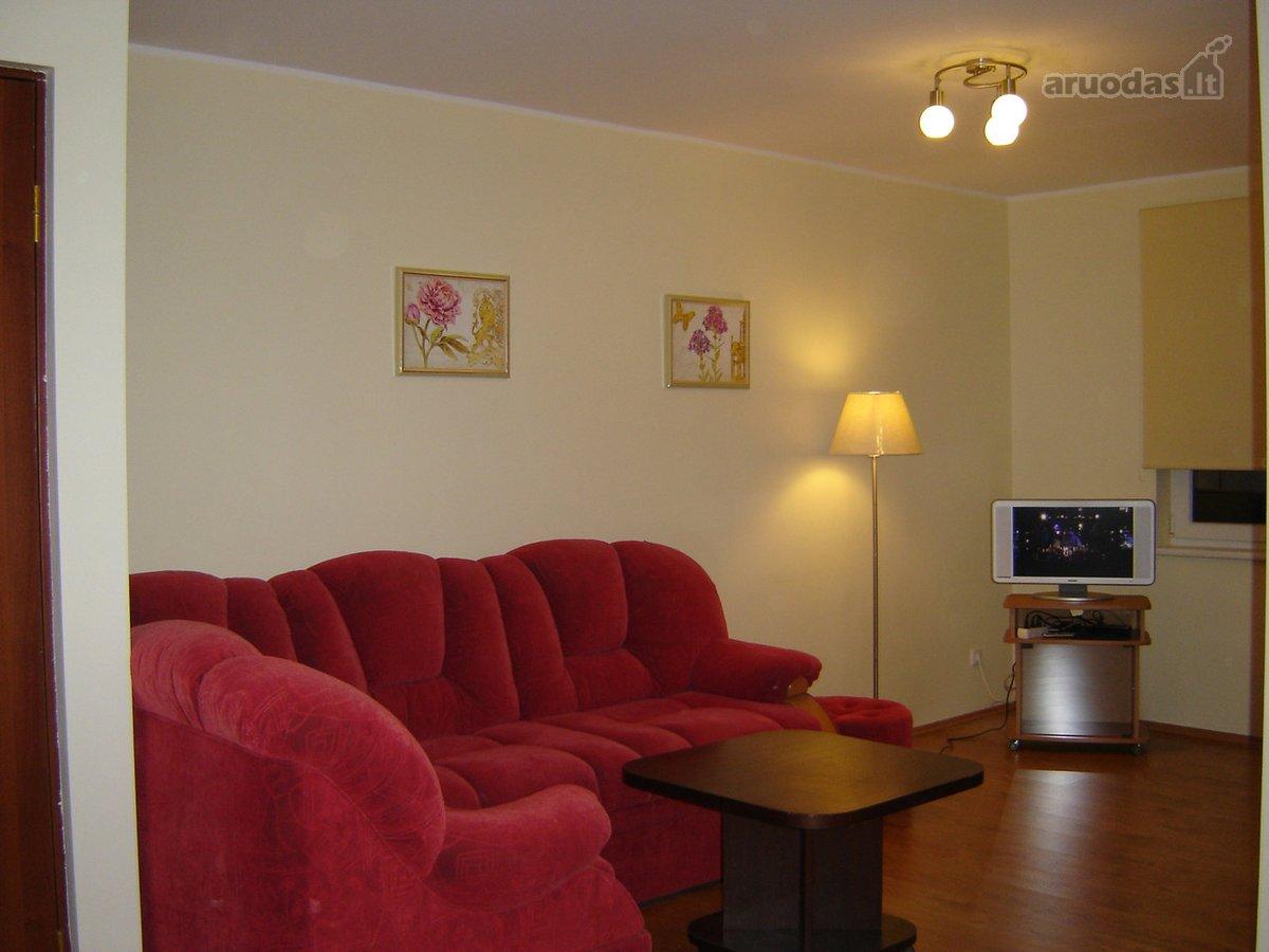 Vilnius, Naujamiestis, Algirdo g., 2 kambarių buto nuoma