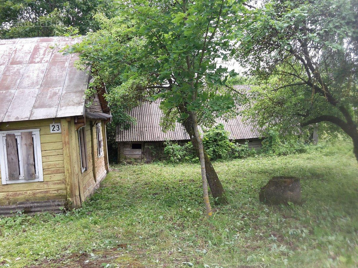 Kupiškio r. sav., Šimonių mstl., Kupiškio g., medinio namo dalis