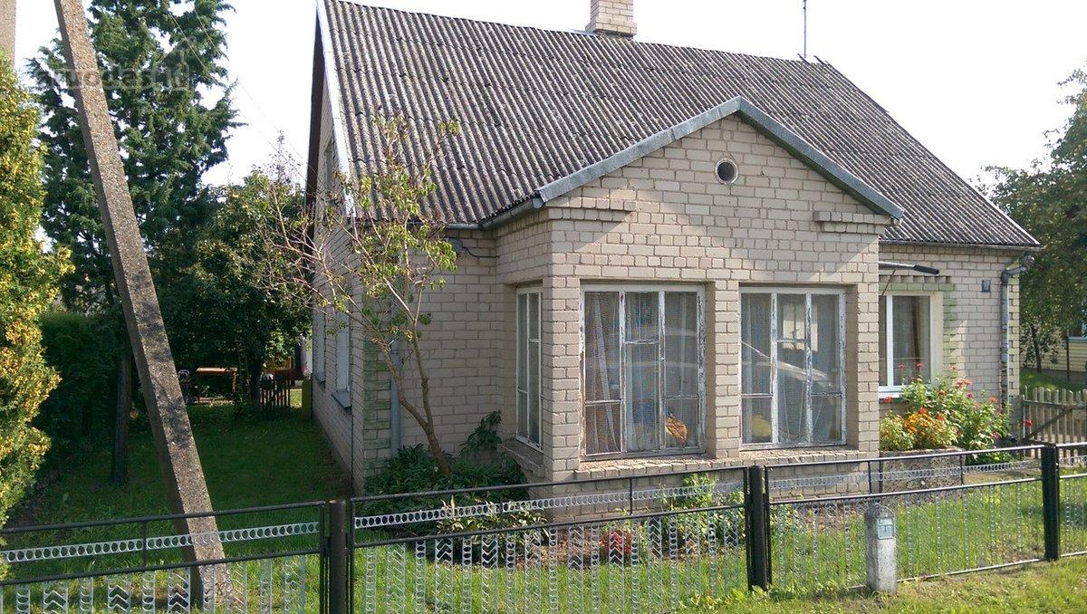 Šakių r. sav., Kudirkos Naumiesčio m., Bažnyčios g., mūrinis namas